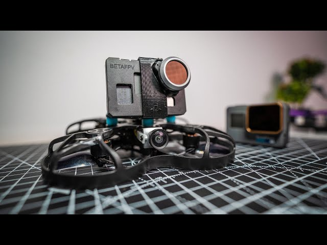 TINY FPV Drone with a NAKED 28g GoPro Camera!