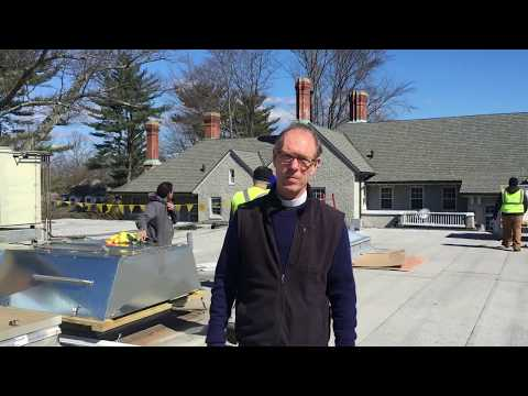 Father Peter vlog: Solar panels on the roof!