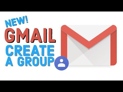 Create A Group In The NEW Gmail