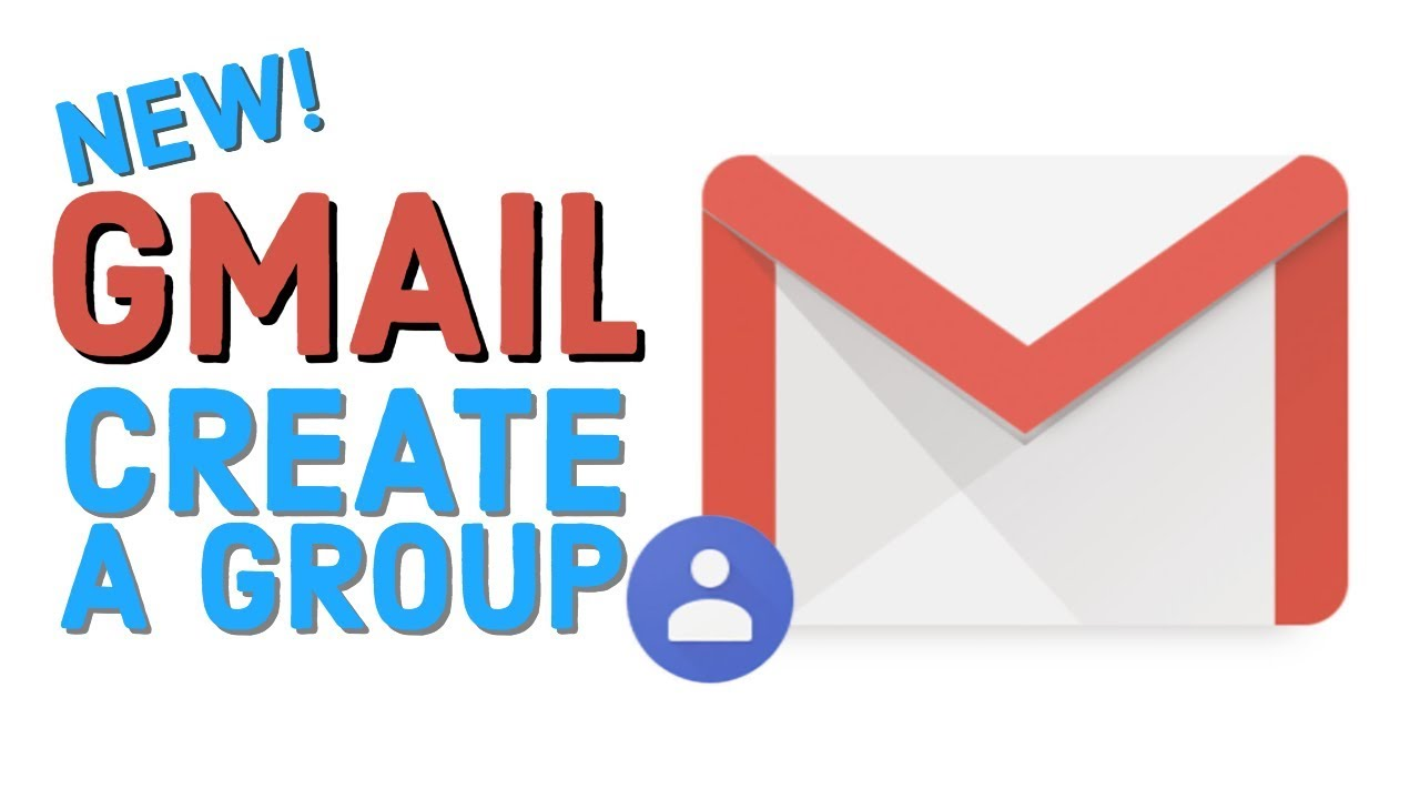 create a group in the new gmail youtube