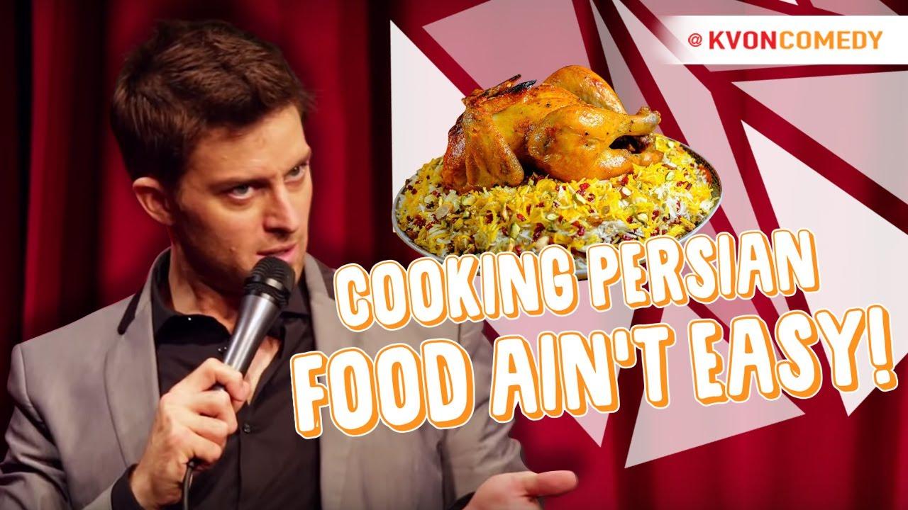 Cooking Persian Food Ain't Easy... (K-von explains Zereshk Polo)