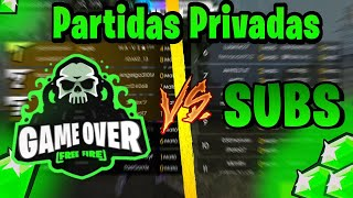 "GAME OVER VS SUBS ""SALAS PRIVADAS """
