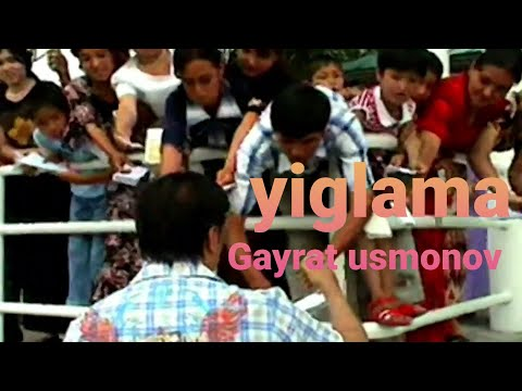 G'ayrat Usmonov-Yiglama|Гайрат Усмонов-йиглама(Koncert Version 2006)