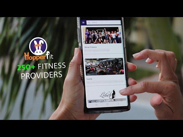 HopperFit | Fitness On-demand