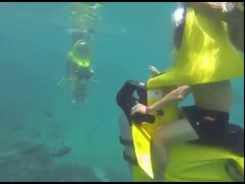 Bali Underwater Scooter - Ride an underwater scooter
