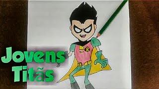 Desenhando Jovens titãs