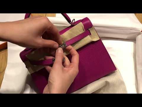 Hermes Kelly Bag Unboxing