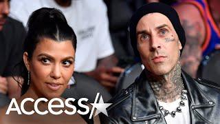 Kourtney Kardashian Let Boyfriend Travis Barker Cut Off Her Super Long Hair