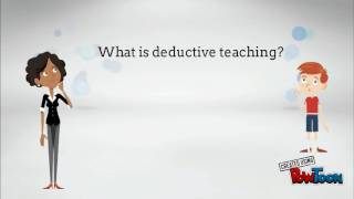 Inductive and Deductive Teaching.