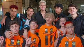 CNCO and PRETTYMUCH's 'Me Necesita' - Go Behind the Scenes of the Action-Packed Music Video!