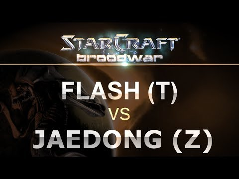 StarCraft - Brood War 2017 - Flash (T) v Jaedong (Z) on Match Point