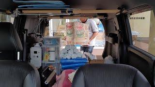 岡山県民が千葉県に救援物資を持って行くドキュメンタリー【台風15号】