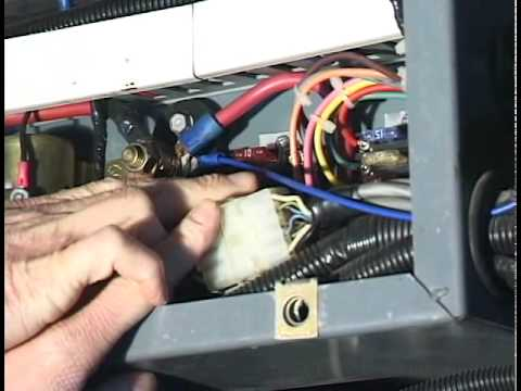 hqdefault part 4 installing the electronic monitor youtube remco lube pump wiring diagram at n-0.co