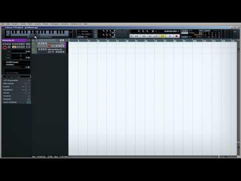 Cubase 5 - Виртуальная клавиатура