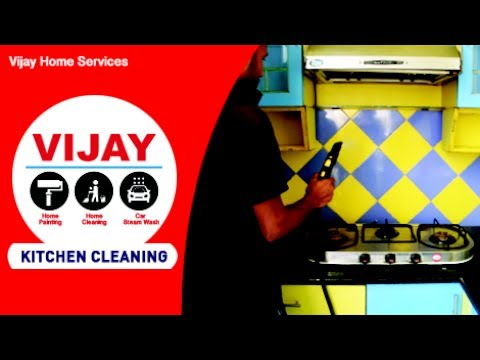 Kitchen Cleaning Service - Vijay Home Services