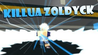 BECOMING KILLUA ZOLDYCK!! | Roblox: Anime Cross 2