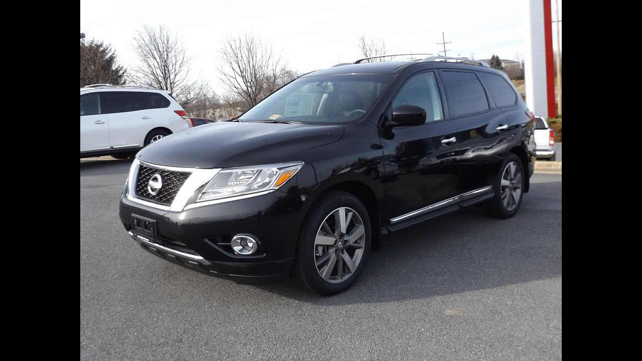 2015 nissan pathfinder platinum 4wd start up, tour and review