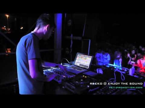 Reeko Enjoy The Sound 1st Anniversary Ausonia Beach Club Trieste Italy 22 06 2013