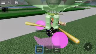 Punch Dee play roblox game of teen titan