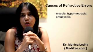 Causes of Refractive Errors - Myopia, Hyperopia