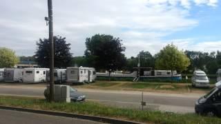 Aire de stationnement de camping car de CHARMES (88130 - Vosges)