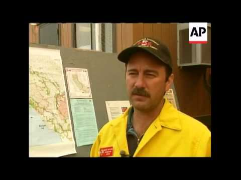 Firefighters continue to battle wildfires in California