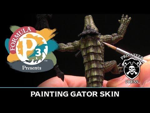 Formula P3 Presents: Painting Gator Skin