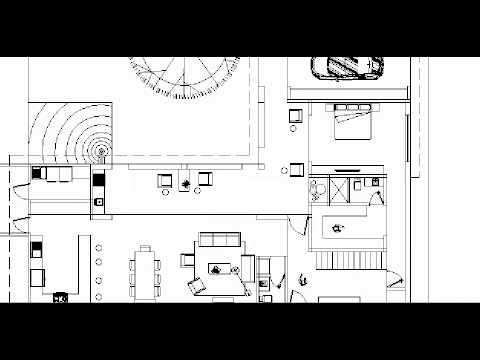 Planos de casa en terreno de 18x23 m en esquina youtube for Planos de casas youtube