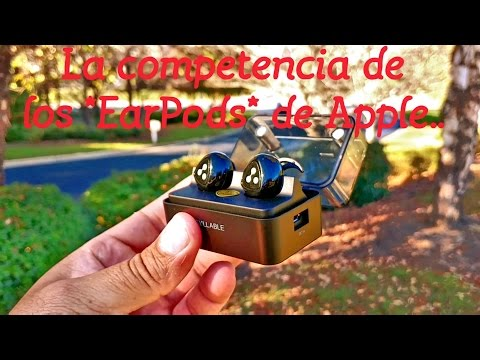 La competencia de los **EarPods de Apple** -  Syllable Wireless Earbuds
