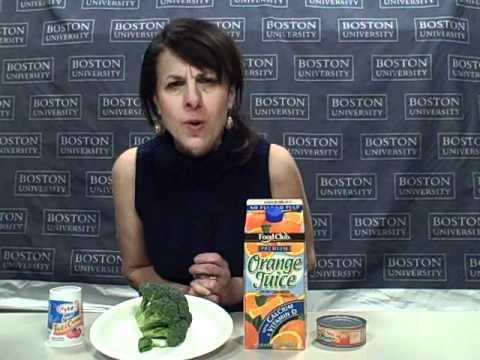 Vitamin D and Calcium Got Milk with BU's Joan Salge Blake