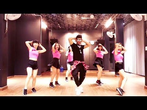 ZUMBA COMO NO - Akon - ft. Becky G | Easy Zumba Steps | Vishal Choreography