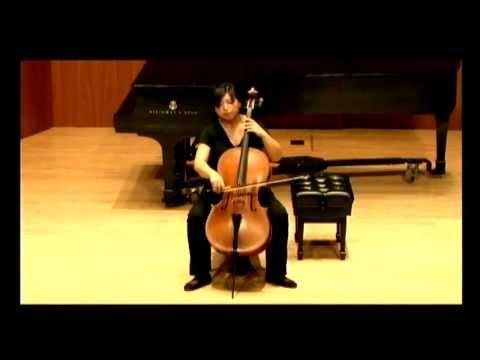 Beiliang Zhu   Britten Suite for Cello Op  72
