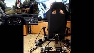 6DOF racing simulator DOF Reality H6