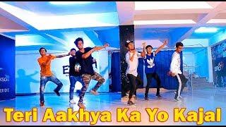 Teri Aakhya Ka Yo Kajal | Dance Choreography @Ajeesh Krishna |Haryanvi Video Song 2018