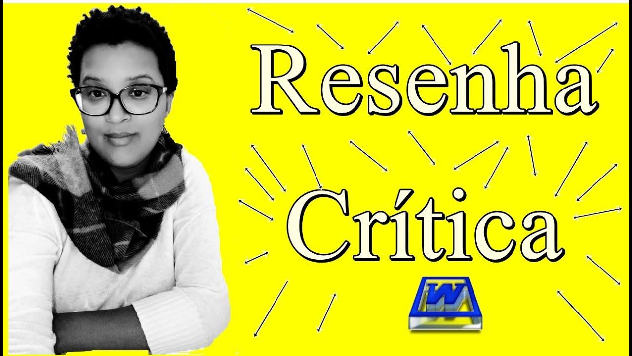 Como iniciar uma resenha critica de um artigo