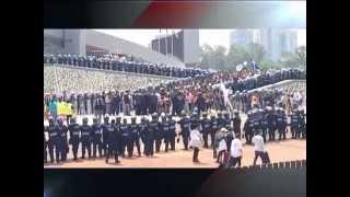 Actos de violencia en el Estadio Olímpico Universitario