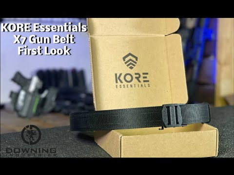 Kore Essentials X7 Gun Belt, First Look