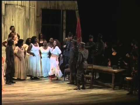 Carmen,  Scene 1 - Cape Opera