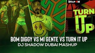 Download Bom Diggy vs Mi Gente vs DJ Turn It Up | Mashup | DJ Shadow Dubai | Zack Knight x Jasmin Walia