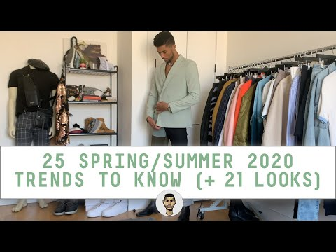 25 Trends To Know For SS20 (+21 ASOS + ZARA Outfits!) | Men's Style & Fashion | Jovel Roystan