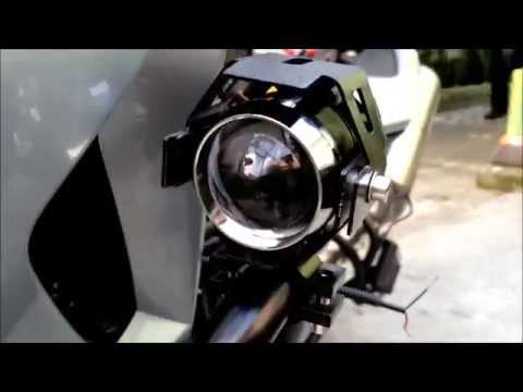 5caf532b67 Instalação de farol auxiliar de Led moto