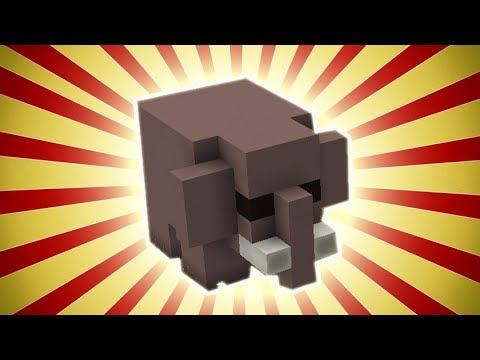 Minecraft: How To Build Elephant Statue