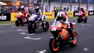 6 Tradisi Unik Pembalap MotoGP Sebelum Balapan