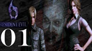 Resident Evil 6 PC detonado início - Vamos jogar gameplay comentado PT-BR