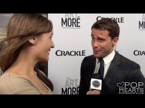 Christian Cooke  The Art of More Premiere  Pop Hearts TV