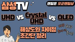 삼성 TV UHD &크리스탈UHD &  …