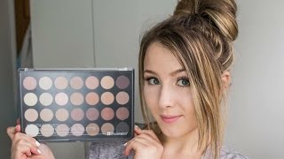 review bh cosmetics neutral eyeshadow palette