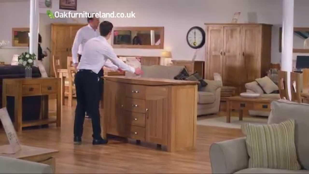 Perfect Oak Furniutre Land   Bank Holiday Savings   YouTube