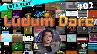 [2/3] Let's Play Ludum Dare mit Budi | Double Kick Heroes, Agent Hooker | 18.01.2016