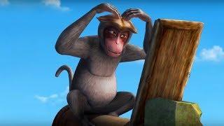 Маугли - Книга Джунглей - Лепесток –развивающий мультфильм для детей